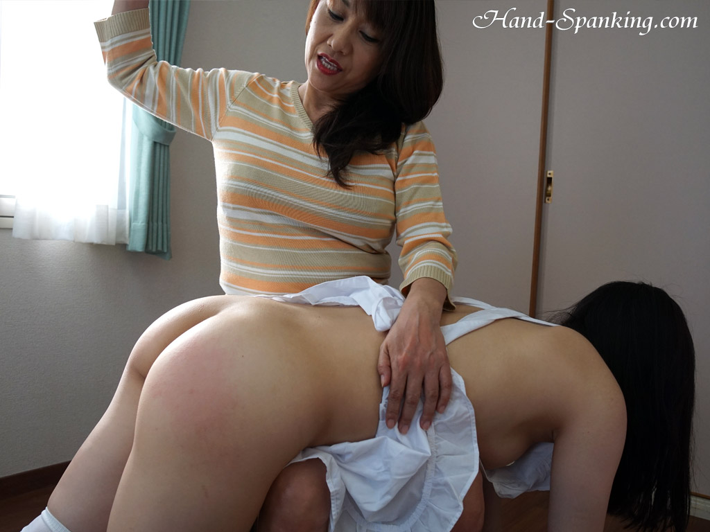 Japanese ass spanking all with