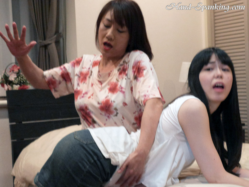 Intimidating naked japanese ass spanking love the